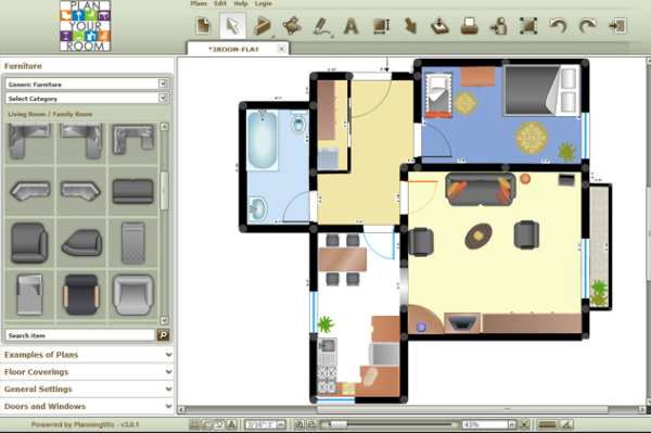 10 Best Free Application Providing Online Room Planners