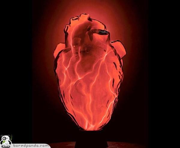 Electro Heart Lamp