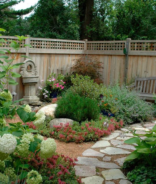 Front entry garden