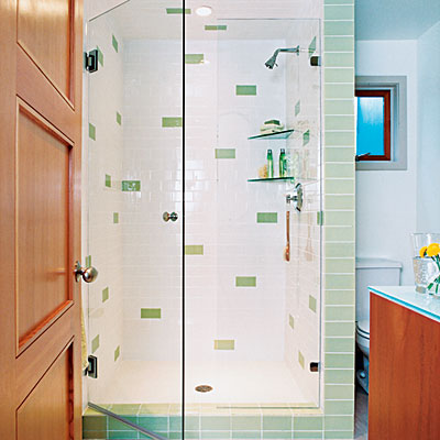 Glass & subway tile