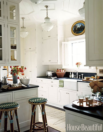 High-Ceilinged Kitchen