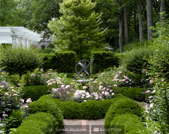 Informal Garden, Winnetka, Illinois