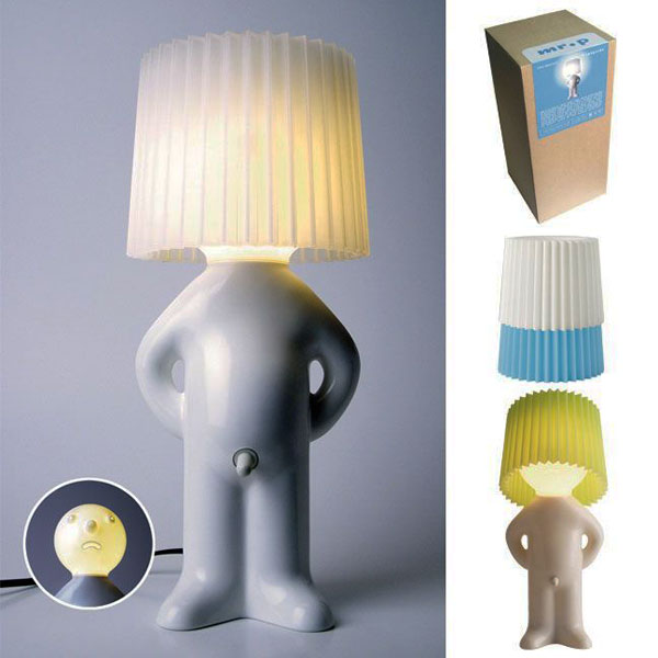 One Man Shy Lamp