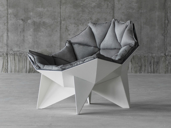 Lounge chair Q1 – Comfortable Chair Inspired by Geodesic Dome