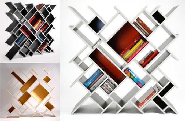 Quad Bookcase
