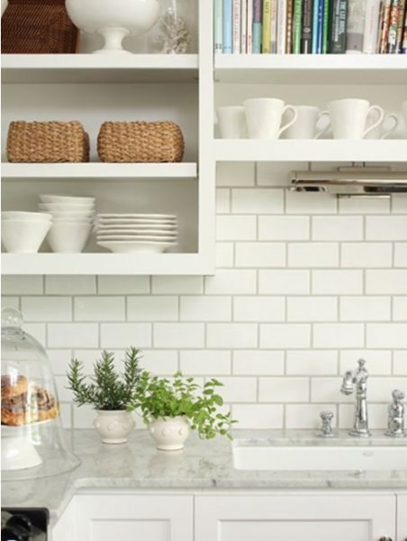 Traditional White Subway Tile