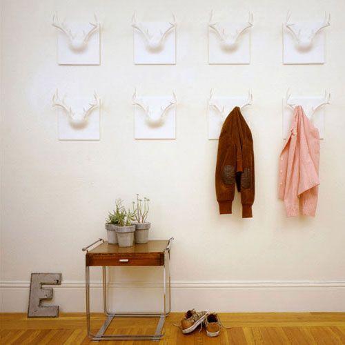 50 Most Creative & Unique Coat Hooks Design Ideas