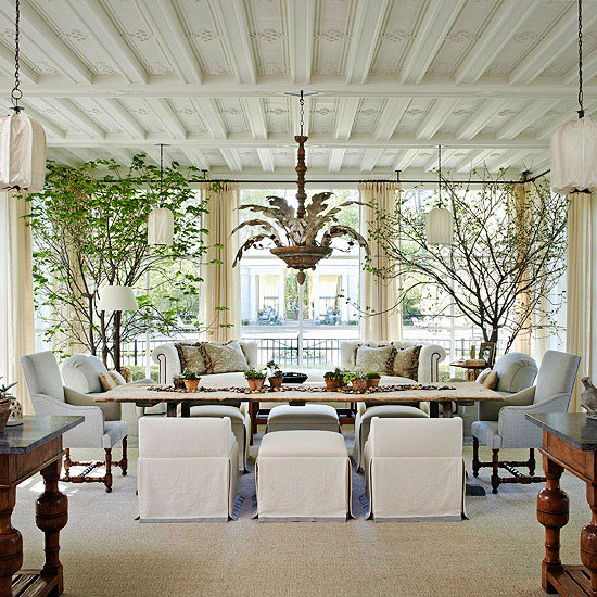 Living Room Lighting 20 Powerful Ideas To Improve Your: 50 Most Elegant Sunroom Furniture Designs