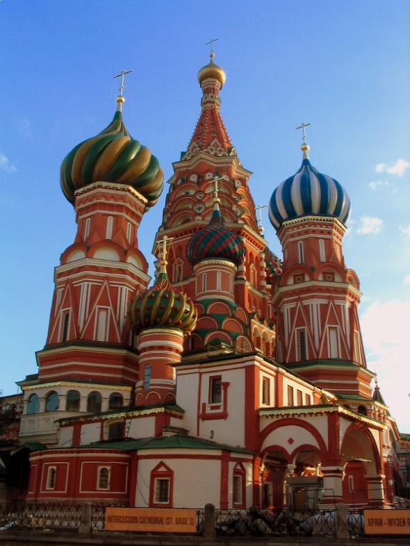 75 most famous buildings of all time for Famous landmarks in russia