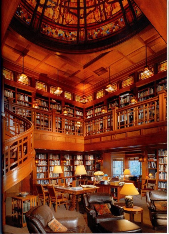 George Lucas's library