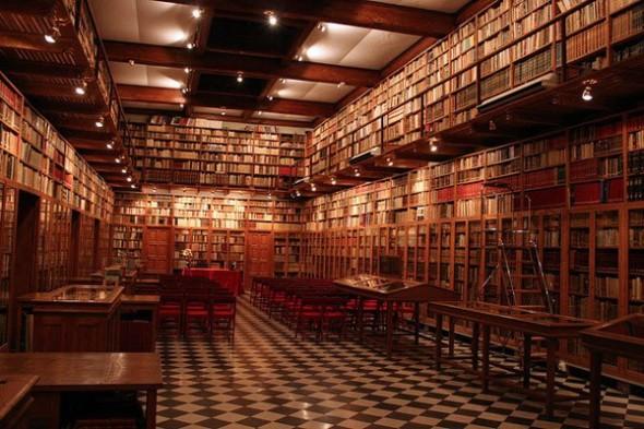 Miquel Mateu's library