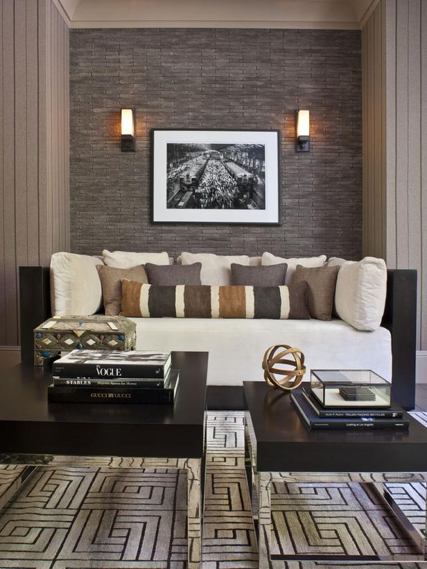 Home Office Builtin Seating Area Interior Design Mag