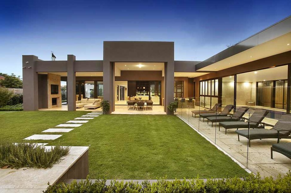 contemporary house in melbourne australia