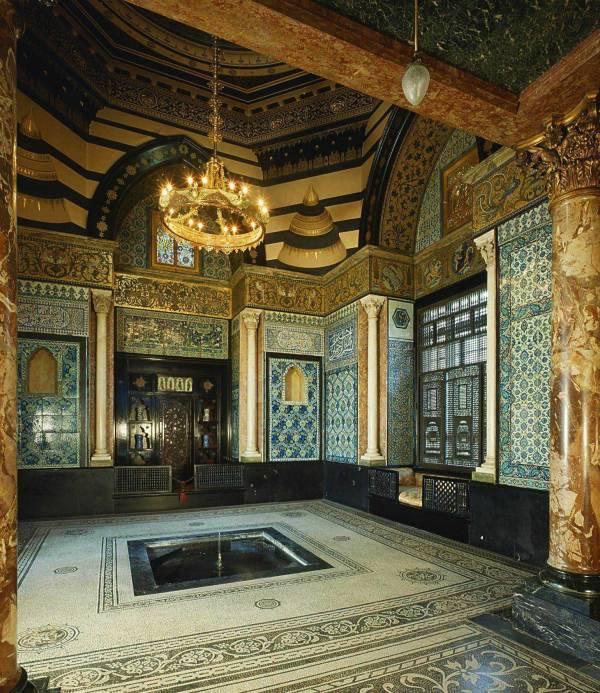 Arab Hall Leighton House London England Interior