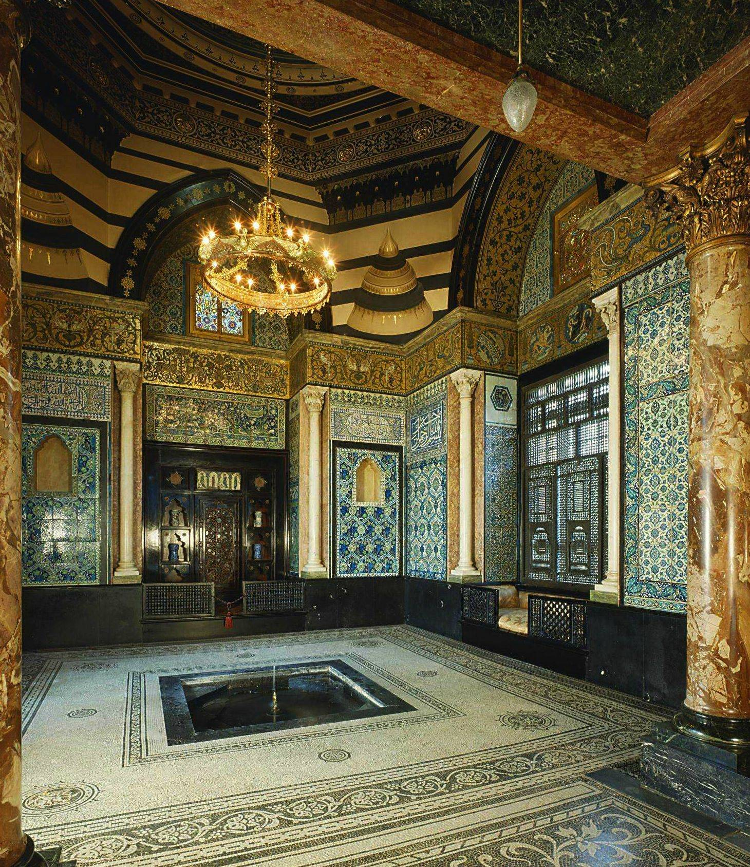 Arab Hall Leighton House London England Interior