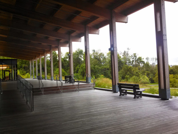 Beautiful huge deck in new Oak Ridges Community Centre