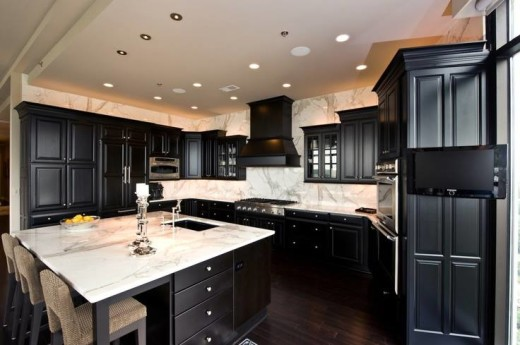 Black Kitchen Designs 6
