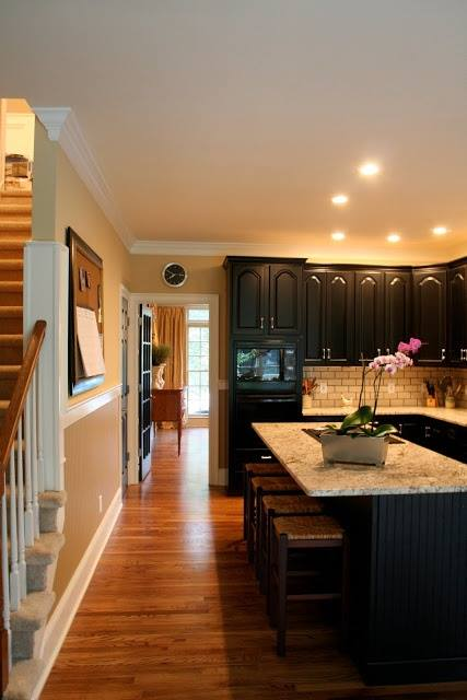 Black Kitchen Designs 7
