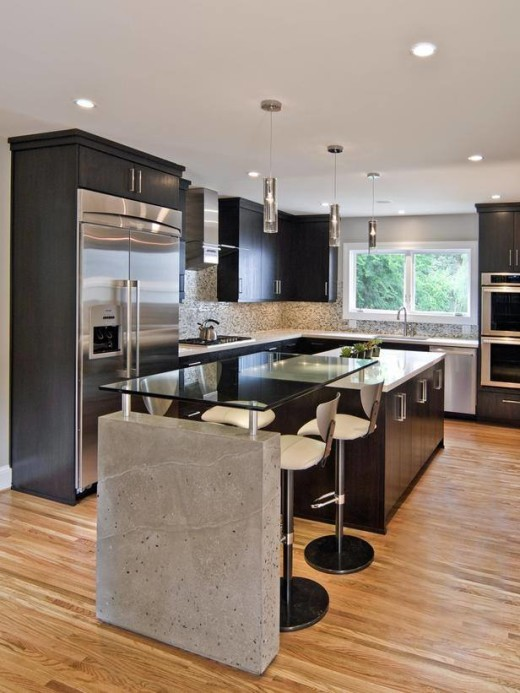 Black Kitchen Designs 9