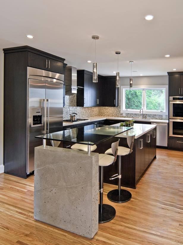 Black Kitchen Design Ideas ~ Black kitchen designs interior design mag