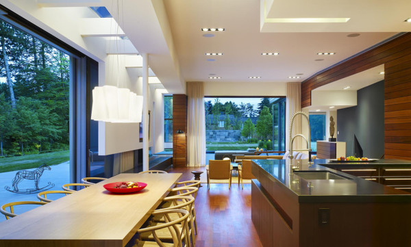Elegant open kitchen