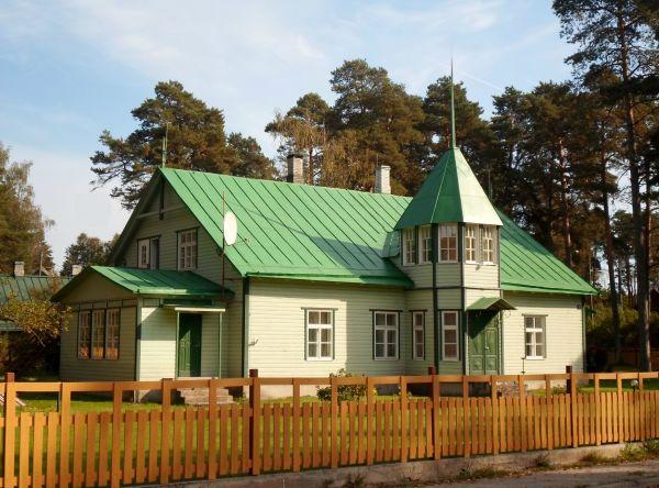 Former post office in Elva, Estonia