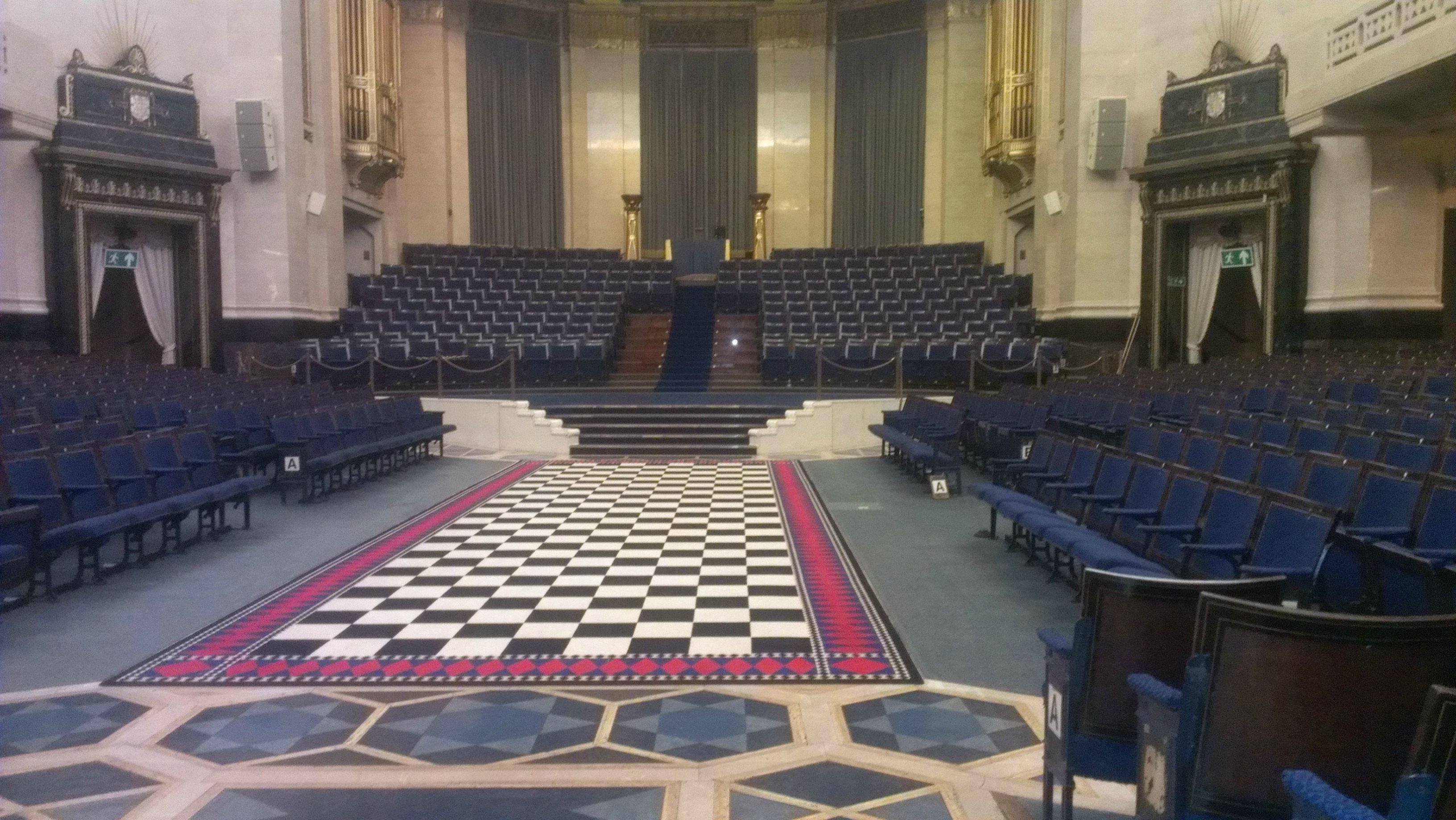 Freemasons United Grand Lodge Of England Main Hall