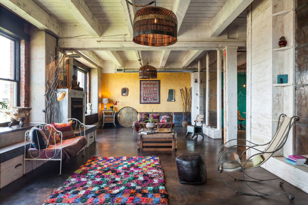 Funky, Portland Apt is Perfect Trophy Home for Successful Etsy Entrepreneur