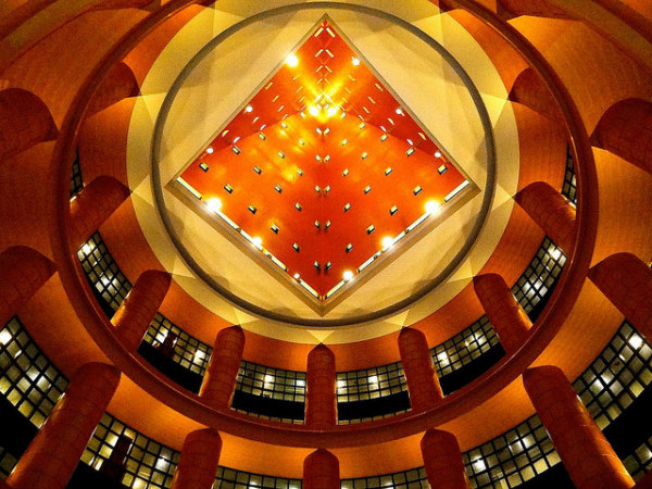 Hotel Hyatt Regency Fukuoka, Japan by Michael Graves