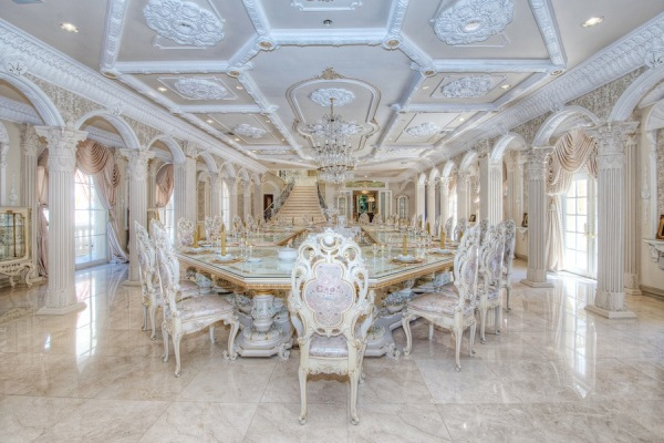 Huge formal dining room