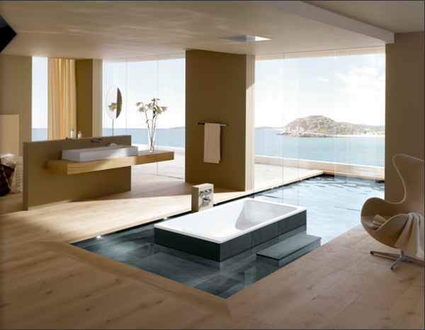 Magnificent Bathroom With A View