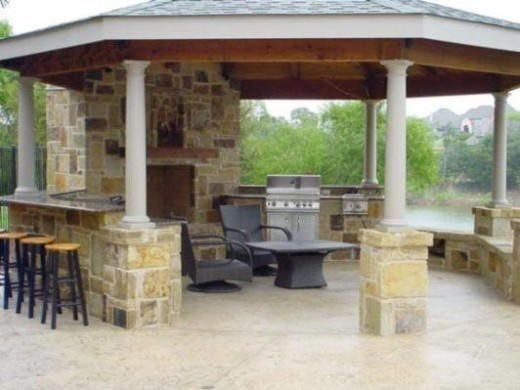 Modern Outdoor Kitchen Ideas 5