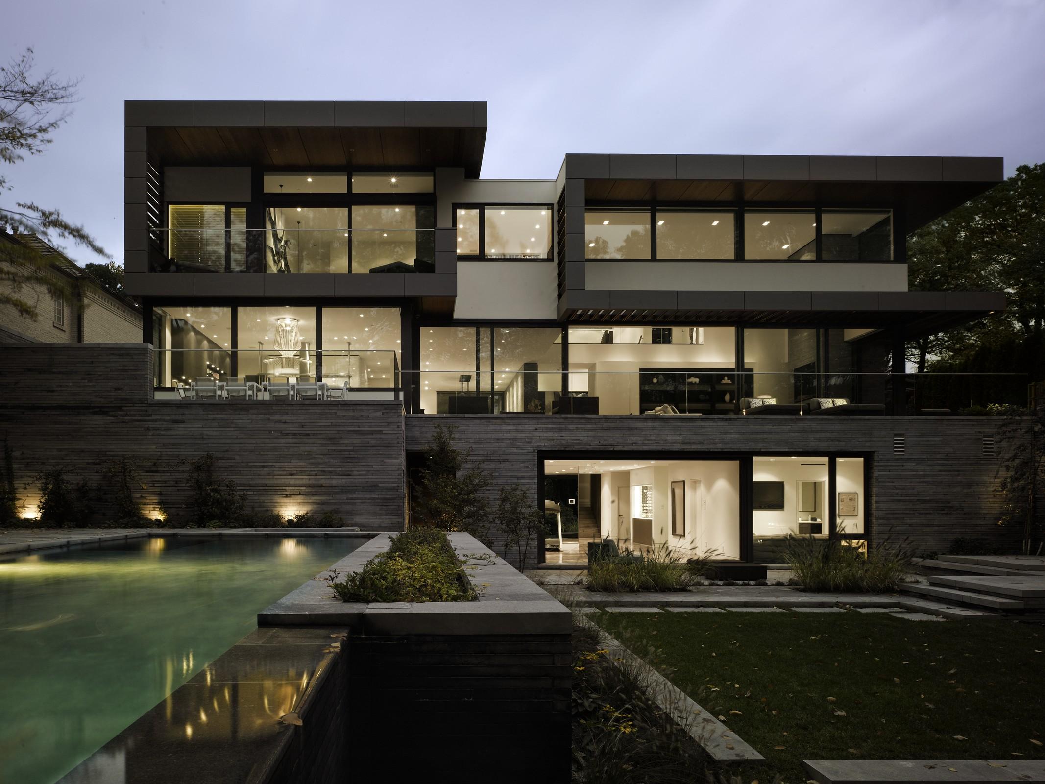Modern Villa Toronto Interior Design Mag