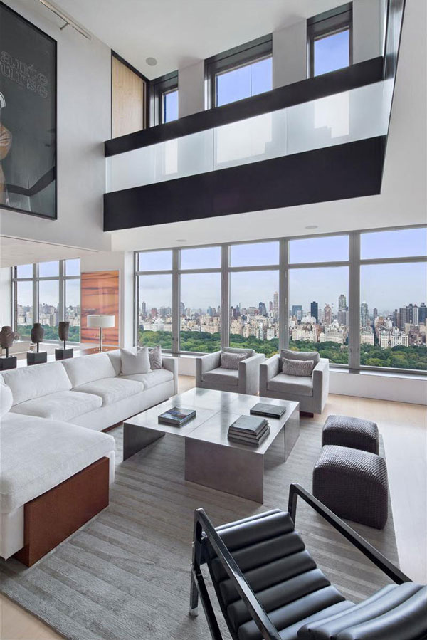 New York penthouse with an amazing view