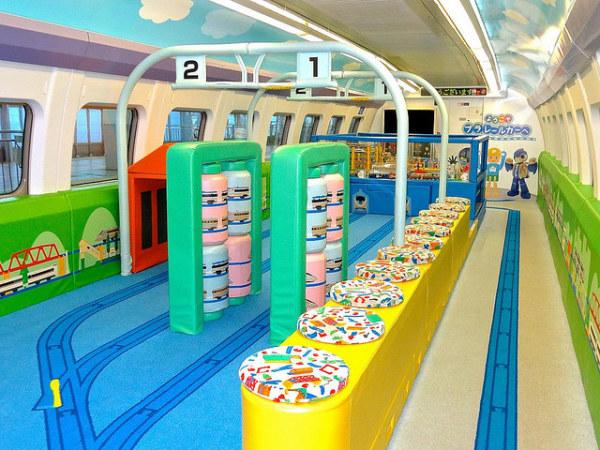 Plarail car, 500 series Shinkansen, Japan