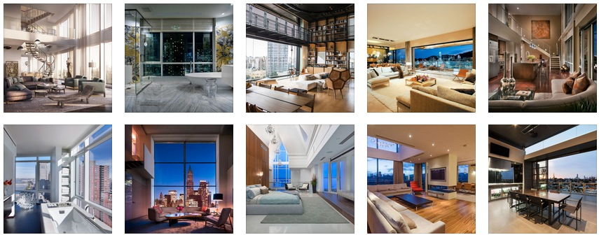 Beautiful Penthouse Designs  – A Lap of Luxury