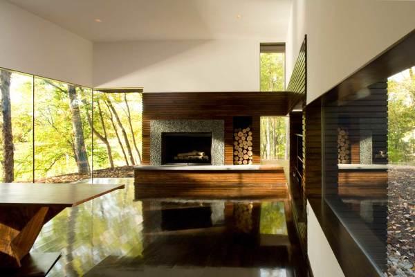 Serene Studio in the Woods