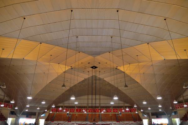 St. John Arena Ceiling, The Ohio State University - Columbus, Ohio