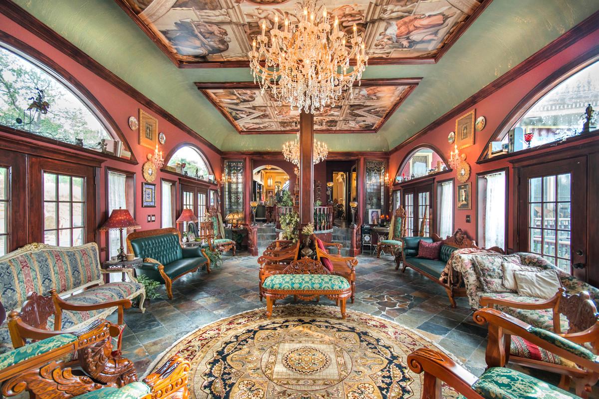 Stunning Great Hall In 1882 German Built Pollaro Braun
