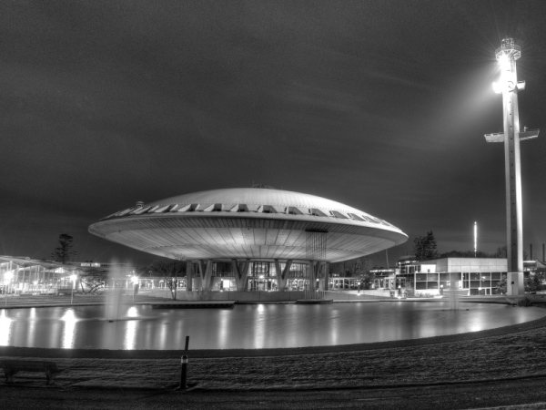 The Evoluon in Eindhoven, the Netherlands