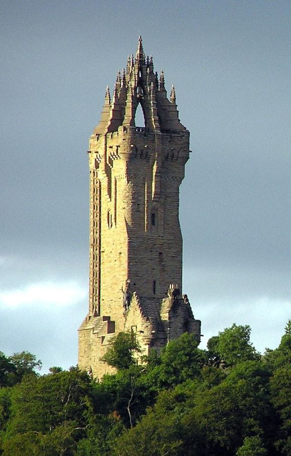 The National Wallace Monument, Scotland