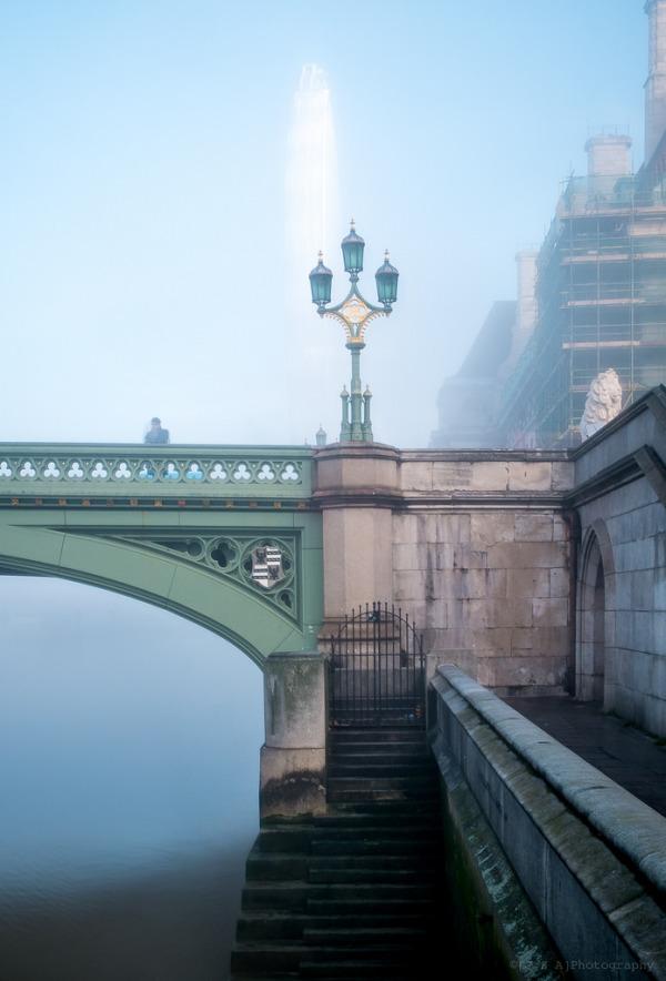 Victorian Bridge, Gothic Details, Millenium Eye - London