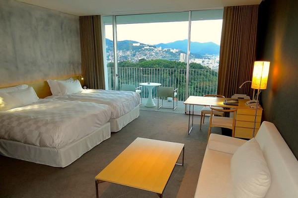 Garden Terrace Nagasaki Hotels & Resorts, Japan by Kengo Kuma
