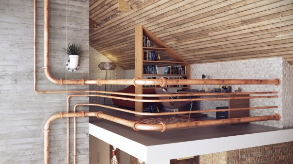 Industrial Study Loft