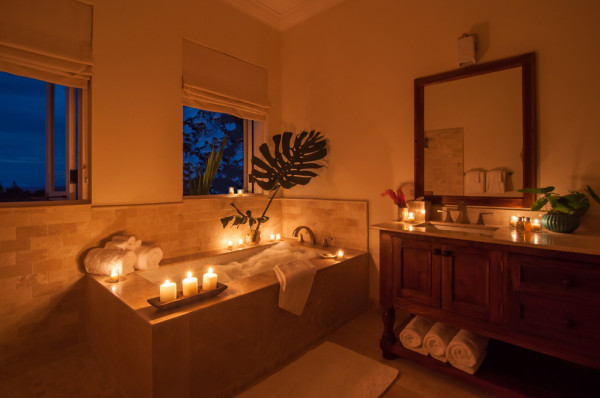 Room with a warm atmosphere