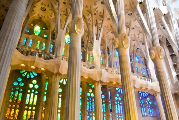 Sagrada Familia- Interior