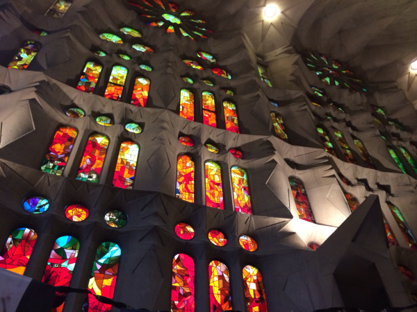 Sagrada Familia Interior. Barcelona