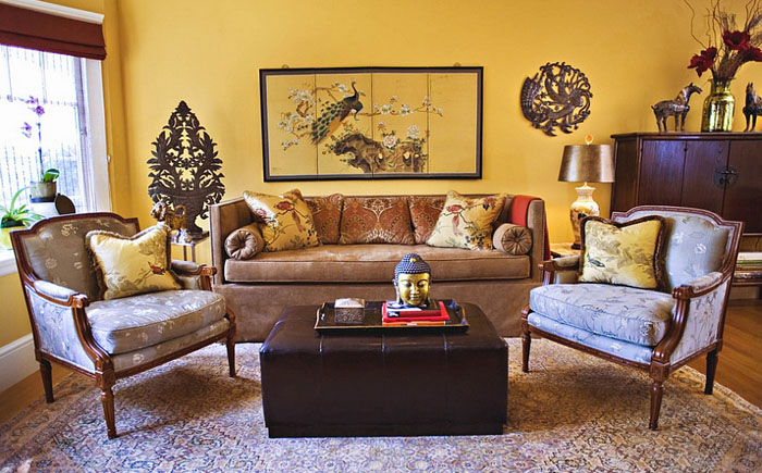 Yellow Living Room 17 Interior Design Mag