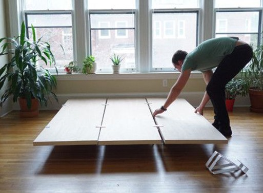 A New Type of Platform Bed From The Floyd