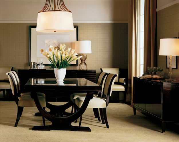 25 gorgeous dining room ideas for soothing experience for Dining room niche ideas